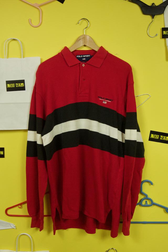 Vintage polo sport long sleeve polo!